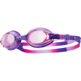 TYR Swimple Tie Dye Gafas Niños, pink/purple